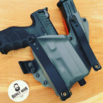 Burly Man Tactical H&K VP9 Kydex Holster with Mag Carrier