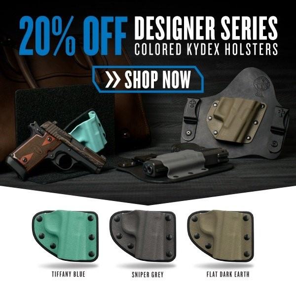 CrossBreed Colored Kydex Holsters Discount