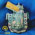 Iron Dog Holsters Custom Print Kydex Holsters