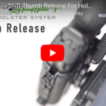 Alien Gear Holsters ShapeShift Thumb Release for Holster Retention