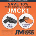 JM Custom Kydex - Discount for HolsterVault