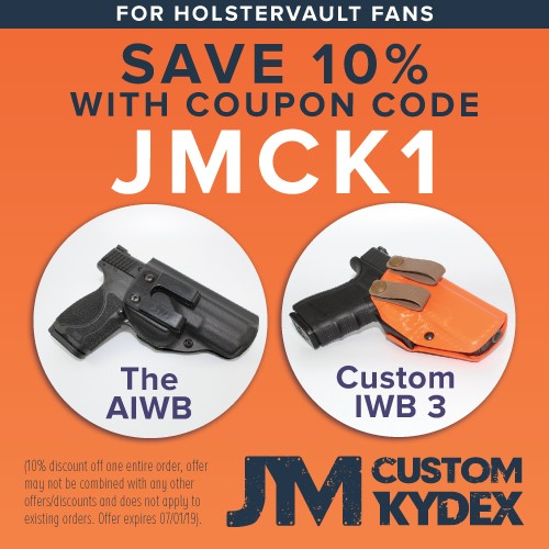 JM Custom Kydex - Discount for HolsterVault