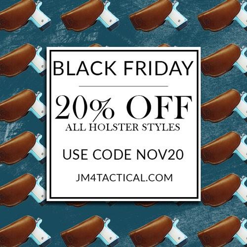 JM4 Tactical Black Friday Sale