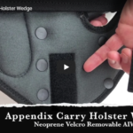 TactiPac Holster Company Appendix Carry Holster Wedge